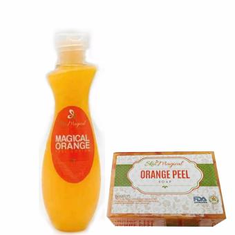 Harga Skin Magical Orange Peel Lotion 120ml and Orange Peel Soap 120g Bundle