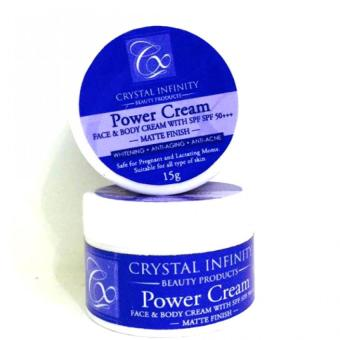 Power Cream 15grams by Crystal Infinity Price Philippines