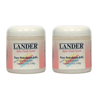 LANDER Pure Petroleum Jelly (Baby Fresh Scent) 198g, Set of 2 Price Philippines