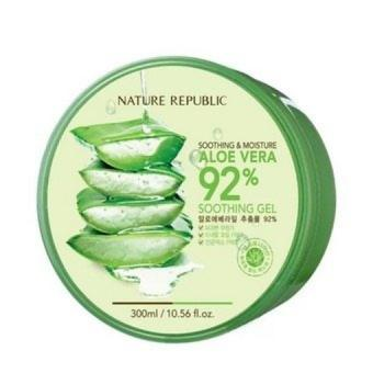 Nature Republic Soothing and Moisturizing Aloe Vera 92% Soothing Gel 300ml - SET OF 1 Price Philippines
