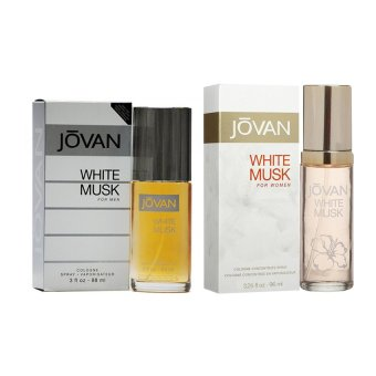 Harga Jovan White Musk for Men 88ML and Jovan White Musk for Women 96.1ML Couple Perfume