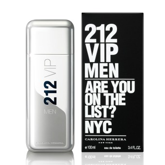 Harga Carolina Herrera 212 VIP Eau De Toilette Men 100ml