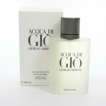 Harga Giorgio Armani Acqua Di Gio Eau de Toilette for Men100ml