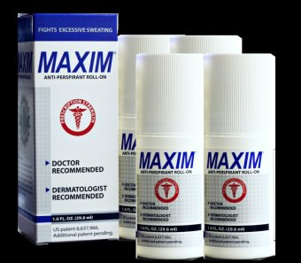 PSL Maxim Original Promo Bundle of 4 Anti-Perspirant Price Philippines
