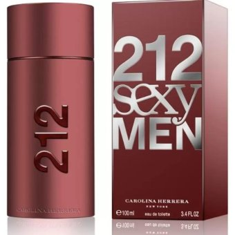 Harga Carolina Herrera 212 Sexy Men Eau De Toilette For Men 100ml