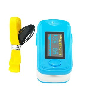 Blue RPO-8B5 Color OLED Fingertip Pulse Oximeter with Audio Alarm & Pulse Sound – Pulse Rate and Spo2 Monitor CE FDA Price Philippines
