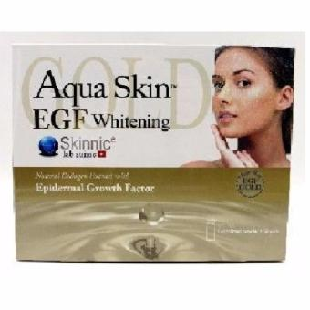 AUTHENTIC Aqua Skin EGF IV-Glutathione Whitening Anti-aging Epidermal Growth Factor by Skinnic Lab suisse Price Philippines