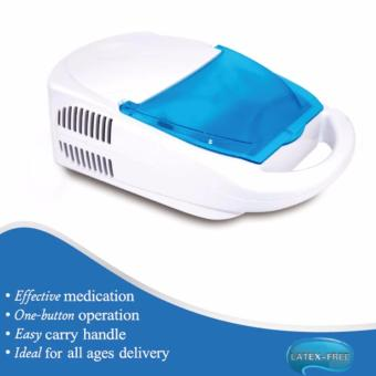 Harga Portable Health Compressor Nebulizer Kit (White/Blue)