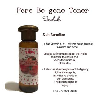 Skinlush by Pacey Pore Be Gone Toner 50ml Price Philippines