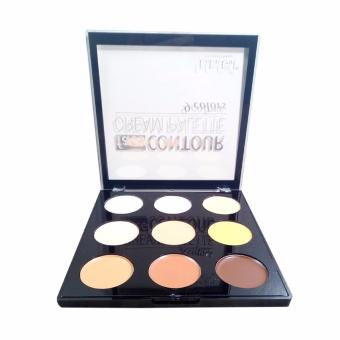Professional Make-up Face Contour Cream Palette 9 colors Price Philippines