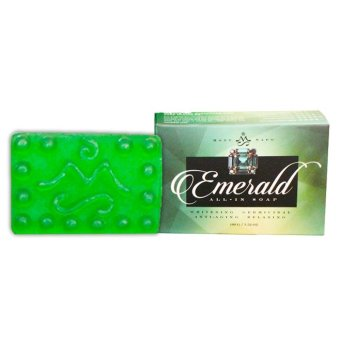 Harga Mont Sapo Emerald All-In Soap 120g