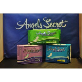 Harga Angels Secret Negative Ion Napkin ALL-IN-ONE Package