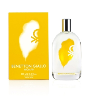 Harga United Colors of Benetton Giallo Eau De Toilette for Women 100ml