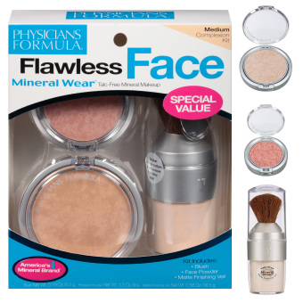 Physician's Formula Mineral Wear Make up Set Flawless Face Complexion Kit (Medium Complexion) Price Philippines
