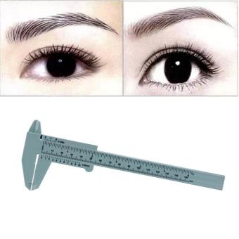 1PC Microblading Reusable Makeup Measure Eyebrow Guide Ruler Permanent Tools - intl Price Philippines