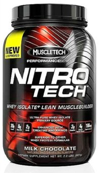 Harga Muscletech Nitrotech Performance Series Milk Chocolate 907g