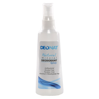 Harga DEONAT Mineral Deodorant Spray 100ml (Natural)