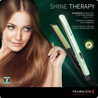 Harga 2017 Hot Remington LCD Fast Hair Straightener Simply Straighting Iron Shine Therapy Ceramic Hair Flat Iron Wholesale Price S9960