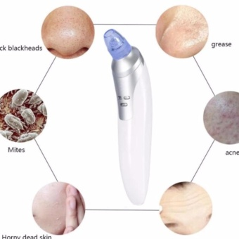 Harga QF Facial Skin Care Acne Blackhead Suction Pore Beauty Machine Rose Gold