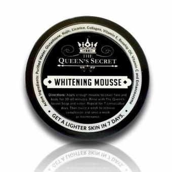 Harga The Queens Secret Whitening Mousse Bleaching Scrub