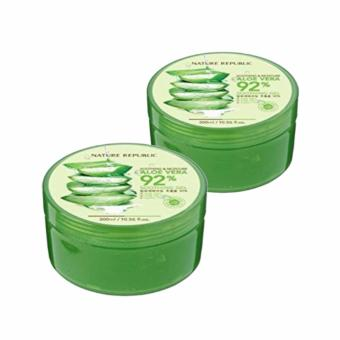 Nature Republic Soothing and Moisturizing Aloe Vera 92% Soothing Gel 300ml- SET OF 2 Price Philippines