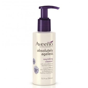 Harga Aveeno Absolutely Ageless Nourishing Cleanser