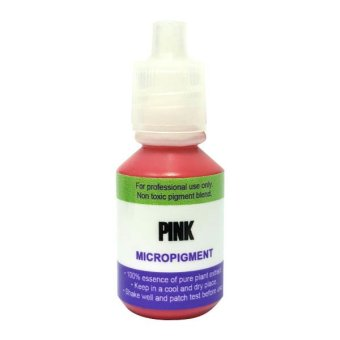 Harga Contours Permanent Make Up Ink MicroPigment for Cosmetic Tattoo - Pink