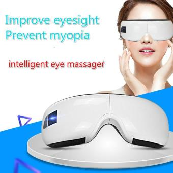 Harga Eye Relaxer Massage Air pressure Eye massager with mp3 Intelligent Eye Protection Device - intl