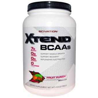 Harga Genuine Sealed Scivation Xtend BCAAs Muscle Growth and Recovery- 90 servings Fruit Punch flavor