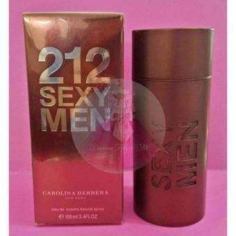 Harga Carolina Herrera 212 Sexy Men Eau de Toilette for Men 100ml (US Tester)