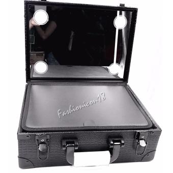 Harga Professional Make-up Big Case with Light And Mirror
