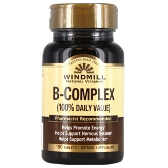 Windmill B-Complex Tablets Bottle of 100 Price Philippines