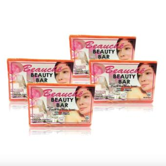 Beauche Beauty Soap Bar 90g Set of 4 Price Philippines