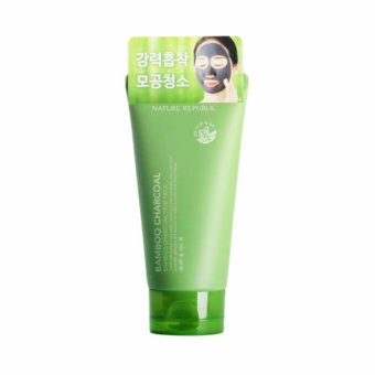Harga Nature Republic Bamboo Charcoal Mud Pack