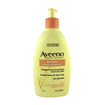 Harga Aveeno Active Naturals Creamy Moisturizing Oil 354ml