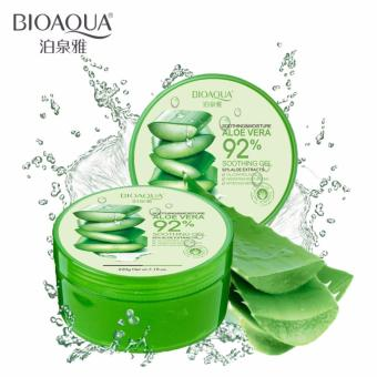 Bioaqua Soothing & Moisturizing Aloe Vera 92% Soothing Gel (Pack of 2) Price Philippines