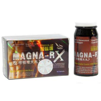 Magna-RX STEPPED UP Male Sex Enhancement Supplement 10 Red Tablets Price Philippines