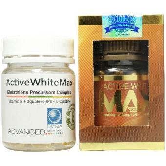 Active White Max Gold New Packaging L-Glutathione + DNA + Gold Infusion Whitening with FREE Glutathione Precursors Complex Price Philippines