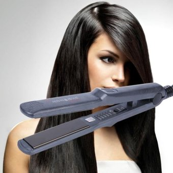 Flat Iron Electric Curling Hair Straightener, Size: Large - intl Price Philippines