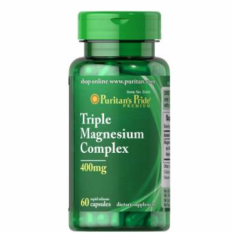 Authentic Puritan's Pride Triple Magnesium Complex 400mg 60 Capsules Price Philippines