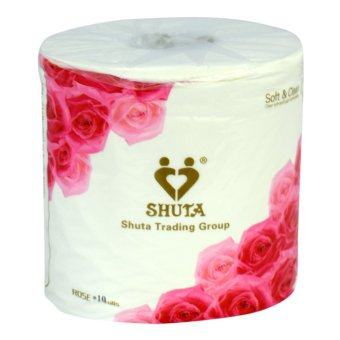 SHUTA (S-0012) ROSE ROLL TISSUE 10's rolls(Floral) Price Philippines