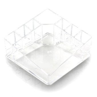 Pop Art Kylie Clear Acrylic Cosmetic Makeup Storage Organizer(8820) Price Philippines