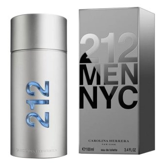 Harga Carolina Herrera 212 Men NYC Eau De Toilette 100ml