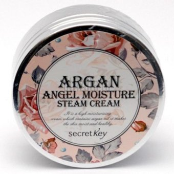 Harga Secret Key Argan Angel Moisture Steam Cream Korean Cosmetics