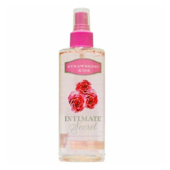 Harga Intimate Secret Strawberry Kiss Silkening Body Mist 250ml