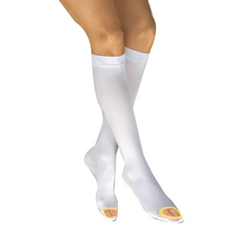 Harga MBHM Knee High Anti Embolism Compression Stockings (White)