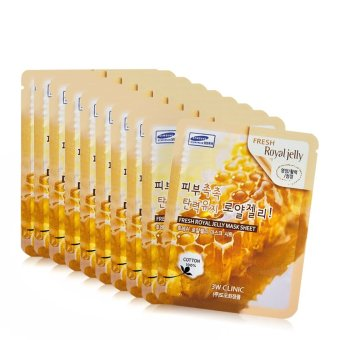 Harga 3w clinic royal jelly mask sheet {10pcs.}
