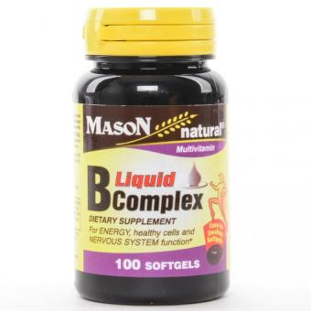 Mason Liquid B Complex 100 Softgels Set of 2 Price Philippines