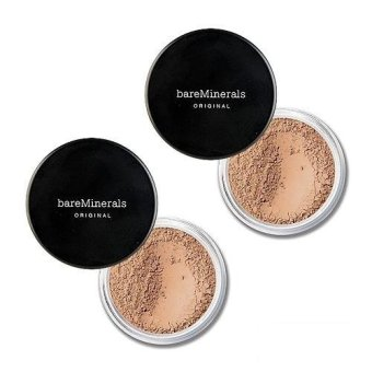 2 x bareMinerals Original Foundation Broad Spectrum SPF15 0.28oz, 8g medium beige N20 - intl Price Philippines