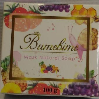 Harga Bumebine Mask Natural Soap (Instant Whitening Soap)